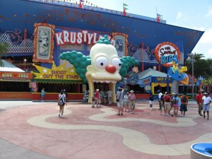 Simpson - Universal Studios